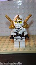 Lego Ninjago Zane ZX Armor Minifigure Minifig 30086 9440 9445 9449 9554 FREE SHI