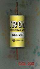 NEW  CGL200  600 VOLT 200 AMP CGL 200  BUSS FUSE