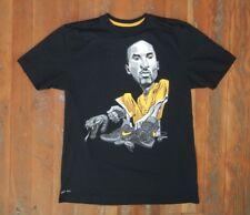 Nike DriFit KOBE BRYANT Los Angeles La Lakers BLACK MAMBA T-SHIRT Sz Men's LARGE