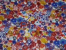 """LIBERTY OF LONDON TANA LAWN FABRIC """"Pinky"""" 3.6 METRES (360 cm) MULTI"""