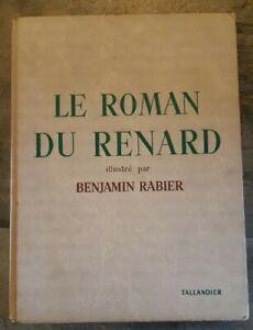 LE ROMAN DE RENARD Benjamin Rabier, édition tallandier