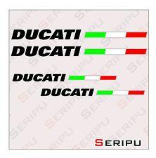 X4 Ducati sticker vinilo recorte pegatina moto GP. enduro