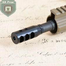 Steel Muzzle Brake CNC Machined .308 5/8x24RH Thread Jam Nut+Washer Included