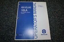 New Holland 10la Tractor Loader Operator 604 Manual Free Shipping