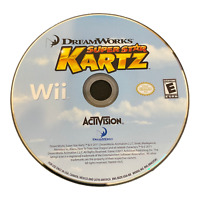 Dream Works Super Star Kartz Disc Only Nintendo Wii Game