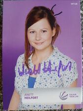 """Anett Heilfort - Sat. 1 Autogrammkarte """"Eine wie keine"""""""
