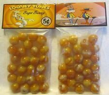 2 Bags Of Bugs Bunny Looney Tunes Cartoon Promo Marbles