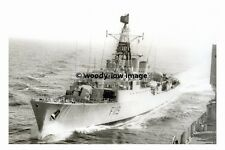 rp17790 - Royal Navy Warship - HMS Eskimo F119 from RFA Regent - photo 6x4