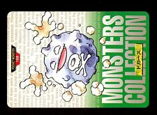 POKEMON BANDAI 1996 GREEN MONSTERS COLLECTION N°  109 SMOGO