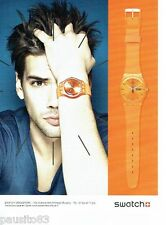 PUBLICITE ADVERTISING 116  2011  Swatch  collection montre