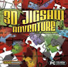 3D JIGSAW ADVENTURE  Addictive Puzzle Fun  PC Win XP Vista 7 8   Brand New