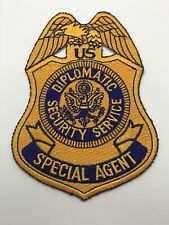 Rare Vintage United States Diplomatic Security Service Special Agent Badge Patch