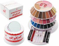 Monella Make Up Kit Cofanetto Trousse BEAUTIFUL CAROUSEL 83 Pezzi EYES-LIPS-FACE