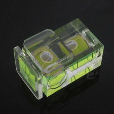 Double 2 Axis Bubble Spirit Level Camera D-SLR Hot shoe for Canon Nikon Olympus