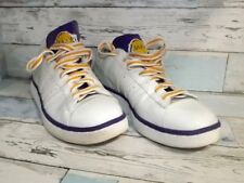 LAKERS ADIDAS TENNIS SHOES MEN'S SIZE 9 EXCELLENT CONDITION $35 Shipped