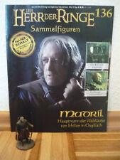 Herr der Ringe-Figur: Madril Hauptmann der Waldläufer (Nr.136) +Heft
