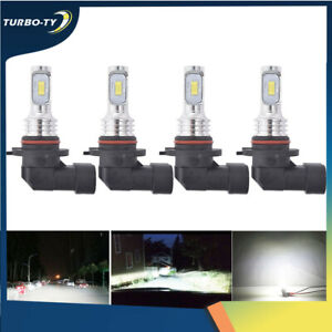 9005 9006 High & Low Beam Combo LED Headlight Bulbs for Toyota Corolla 2001-2013
