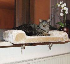 Fensterliege Katzenbett Katzen Körbchen Bett Liegemulde für Fensterbank Liege