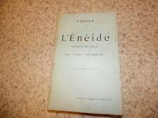 1902.L'énéide traduite en vers français.Virgile.Alphée Motheau
