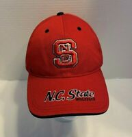 NC State Wolfpack  Embroidered Adult Red Cap Hat Men's Size OS Ships Free