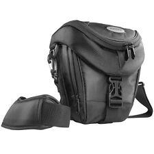 BAXXTAR Mantona Colt SLR Kameratasche schwarz mit Staubschutz & Tragegurt