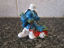 Smurfs Green Telephone smurf Rare