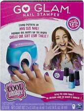 Go Glam Nail Stamper Kit 5 Pattern Pods Decorate 125 Nails Non Toxic Storage Bag