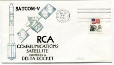 1982 Satcom-V RCA Communications Satellite Delta Rocket Cape Canaveral USA SAT