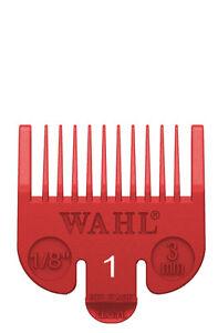 WAHL CLIPPER ATTACHMENT - GRADE 1 (RED)