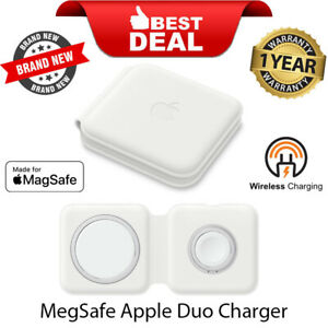 New Sealed MHXF3CH/A  Apple MagSafe Duo Wireless Charger - White Foldable