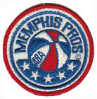 "1971-72 MEMPHIS PROS ABA BASKETBALL VINTAGE 3"" ROUND TEAM LOGO PATCH RARE"