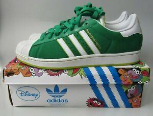 adidas Superstar II Kermit The Frog Men's Shoes Size 11 G49999