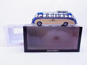 "81779 Minichamps Setra S8 1953 Panorama Bus "" Kroiss-Reisen "" Modello 1:43 Conf"