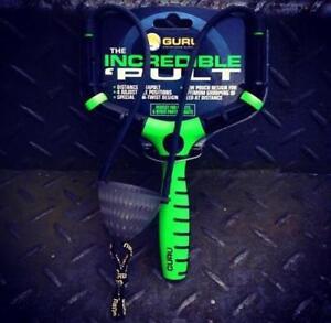 Guru Incredible Pult NEW Carp Fishing Adjustable Green Distance Pellet Catapult