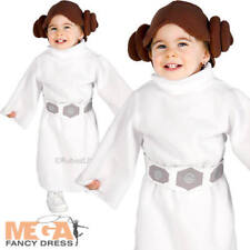 Rubie's Official Disney Baby Princess Leia Fancy Dress Toddler Star Wars Child