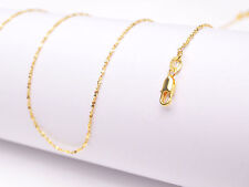 """1Pcs 20inch Wholesale 18K Yellow GOLD Filled """"STAR"""" CHAIN NECKLACEs For Pendant"""