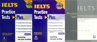 3X Books IELTS Practice test Plus 1 2 3 with KEY+CD 4 modules Academic & General
