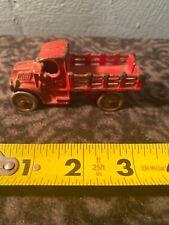 Antique Ac Williams Red Cast Iron Truck