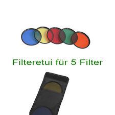 Farbfilter Set 86mm gelb blaufilter orangefilter  grün rotfilter 86mm
