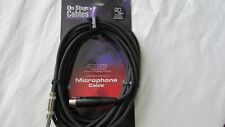 New On stage cables MC12-20HZ microphone cable 6m 20ft xlr to qtr freepost