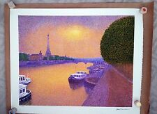Jean Vollet - Eiffel Tower color lithograph, low-number EA (Artist's Proof)