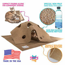 The Ripple Rug Cat Activity Play Mat - Made in Usa - We are the Manufacturer