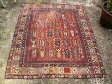Antique Perepedil Caucasian Carpet Tapis Caucase Laine Wool Handmade 134x112cm