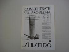 advertising Pubblicità 1988 SHISHEIDO
