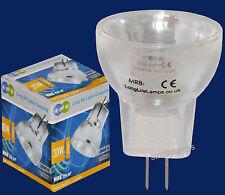 24V MR8 lampe à halogène ampoule 10w MR8 ampoule 25mm 24v long life lamp company