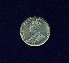 CANADA  GEORGE V  1922  5 CENTS  COIN, JUST ABOUT UNCIRCULATED