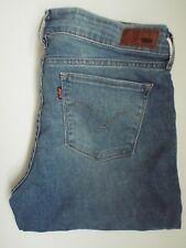 LEVI'S DEMI CURVE BOOTCUT JEANS WOMEN'S STRETCH W31 L33 MID BLUE LEVM044 #