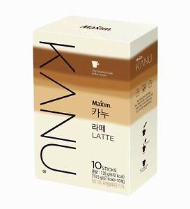 Korean Instant Coffee Mix Maxim KANU LATTE 10sticks GONG YOO