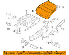 VW VOLKSWAGEN OEM Jetta Front Seat-Cushion Bottom Cover Right 5C6881406CKGYX