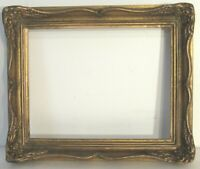 ANTIQUE  GREAT QUALITY GILT FRAME FOR PAINTING  10  X 8   OUTSIDE 13 X 11 INCH
